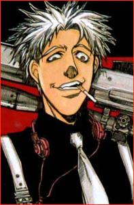 Бандо Эйджи - наёмный убийца (хоть и не любит себя так называть...). Эта короткая манга о том, как Бандо выбирает (и убирает) свои цели, но вот проблема... он просто шизанутый на голову! От создателя великой и неповторимой манги Hellsing!
